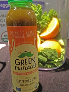 One of the fragrant green smoothies I sampled at the Seed. Orange mango and greens, another combo I need to make at home!