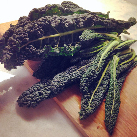 The kale from the Park Slope Food co-op shines above all other kale!