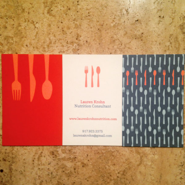 My gorgeous new business cards from Moo.com!