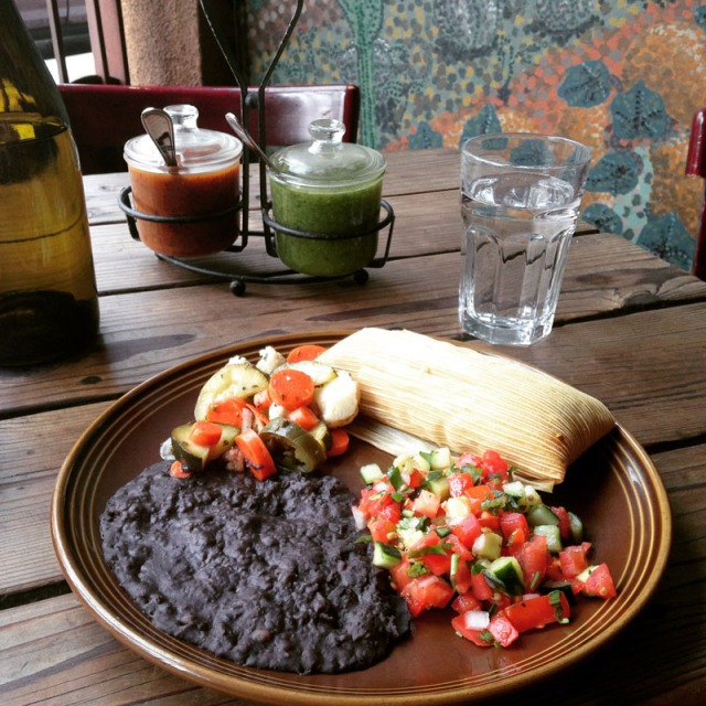Delectable vegan mexican fare at Gracias Madre in the Mission, San Francisco